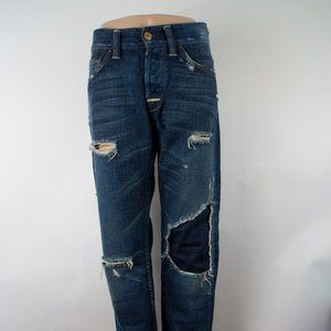 7 For All Mankind Rhigby Straight 33 X 33 Selvedge